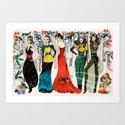 Christmas Alegria  Art Print