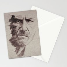 HALF FACE II Stationery Cards