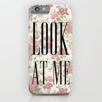 iPhone & iPod Case featuring LOOK AT ME! by KARAM