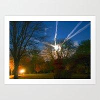 Beckies' Sky Art Print