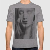 Face Mens Fitted Tee Athletic Grey SMALL
