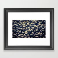 Coffee. One of the greatest addictions! Framed Art Print