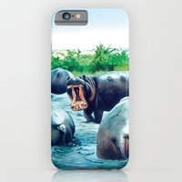 hippos iPhone 6 Slim Case