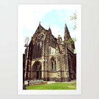 Glasgow Cathedral Mediev… Art Print