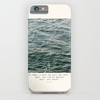 iPhone & iPod Case featuring Set Sail (Franklin Delano Roosevelt Quote) by spillboard