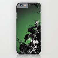iPhone & iPod Case featuring GREEN BASS by bRIZZO