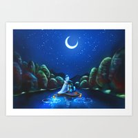 A Wondrous Place Art Print