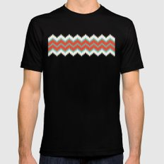 Ikat Mens Fitted Tee SMALL Black