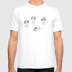 Funny child Mens Fitted Tee SMALL White