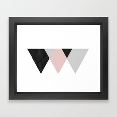 TTTRIANGLES Framed Art Print