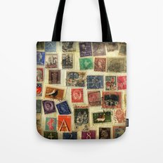 Stamp Collection Tote Bag