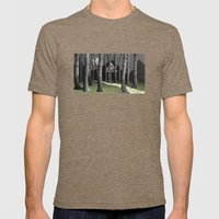 The forest Mens Fitted Tee Tri-Coffee SMALL