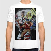 Zombie Rush  Mens Fitted Tee White SMALL