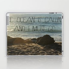 The Ocean is Calling Laptop & iPad Skin
