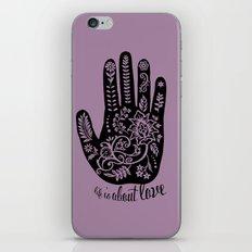 Life and Love iPhone & iPod Skin