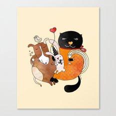 Celebrate Animals Canvas Print
