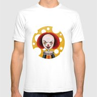 Pennywise Cheese Mens Fitted Tee White SMALL
