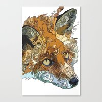Her Complicated Nature II Canvas Print