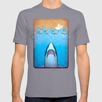 Yesterday's Bathtub Disa… Mens Fitted Tee Slate SMALL