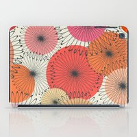Spiral Flowers iPad Case