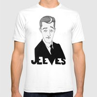 Jeeves Mens Fitted Tee White SMALL