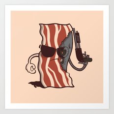 The Baconator Art Print