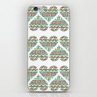 Aztec Hearts iPhone & iPod Skin