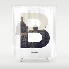 Bombay Shower Curtain