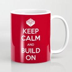 Keep Calm and Build On Mug