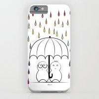 Mimos Under Rainbow Rain iPhone 6 Slim Case