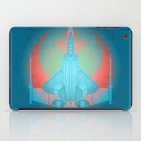 Into the future USAF F22 iPad Case