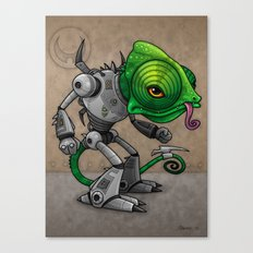 Chameleozoid Canvas Print
