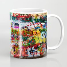 Lennon Wall - All You Need Is Love - Peace Mug