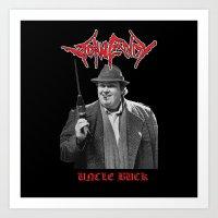 Uncle Buck  Art Print