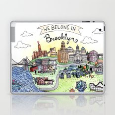 We Belong in Brooklyn Laptop & iPad Skin
