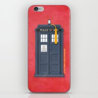 11th Doctor - DOCTOR WHO iPhone & iPod Skin