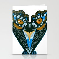 Creature Stationery Cards