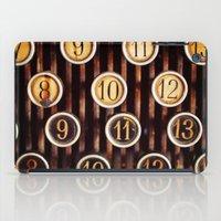 Vintage Numbers iPad Case