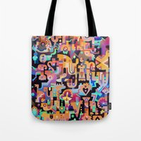 Silent Words Tote Bag