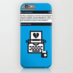No011 MY Miss Lonelyhearts Book Icon poster iPhone 6 Slim Case