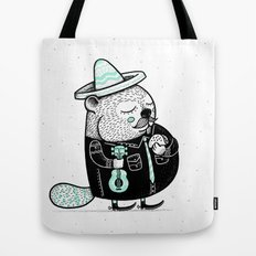 B is for Beaver Tote Bag