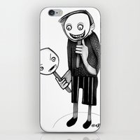 2 Faced iPhone & iPod Skin