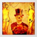 Marcel and the original sin Canvas Print