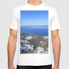 Backcountry White Mens Fitted Tee SMALL