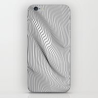 iPhone & iPod Skin featuring Minimal Curves by Leandro Pita