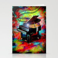 Psychedelic Baby Grand Stationery Cards