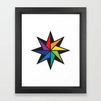 Geometric Star #2 - To W… Framed Art Print