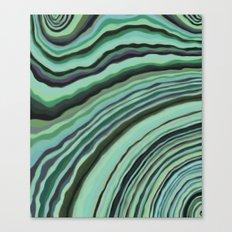 Mineralicious~Mint Tourmaline Canvas Print