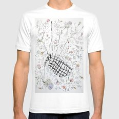 The bagpipes SMALL White Mens Fitted Tee