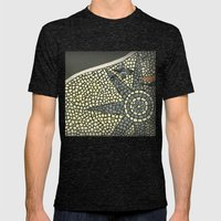 Portuguese Pavement Mens Fitted Tee Tri-Black SMALL